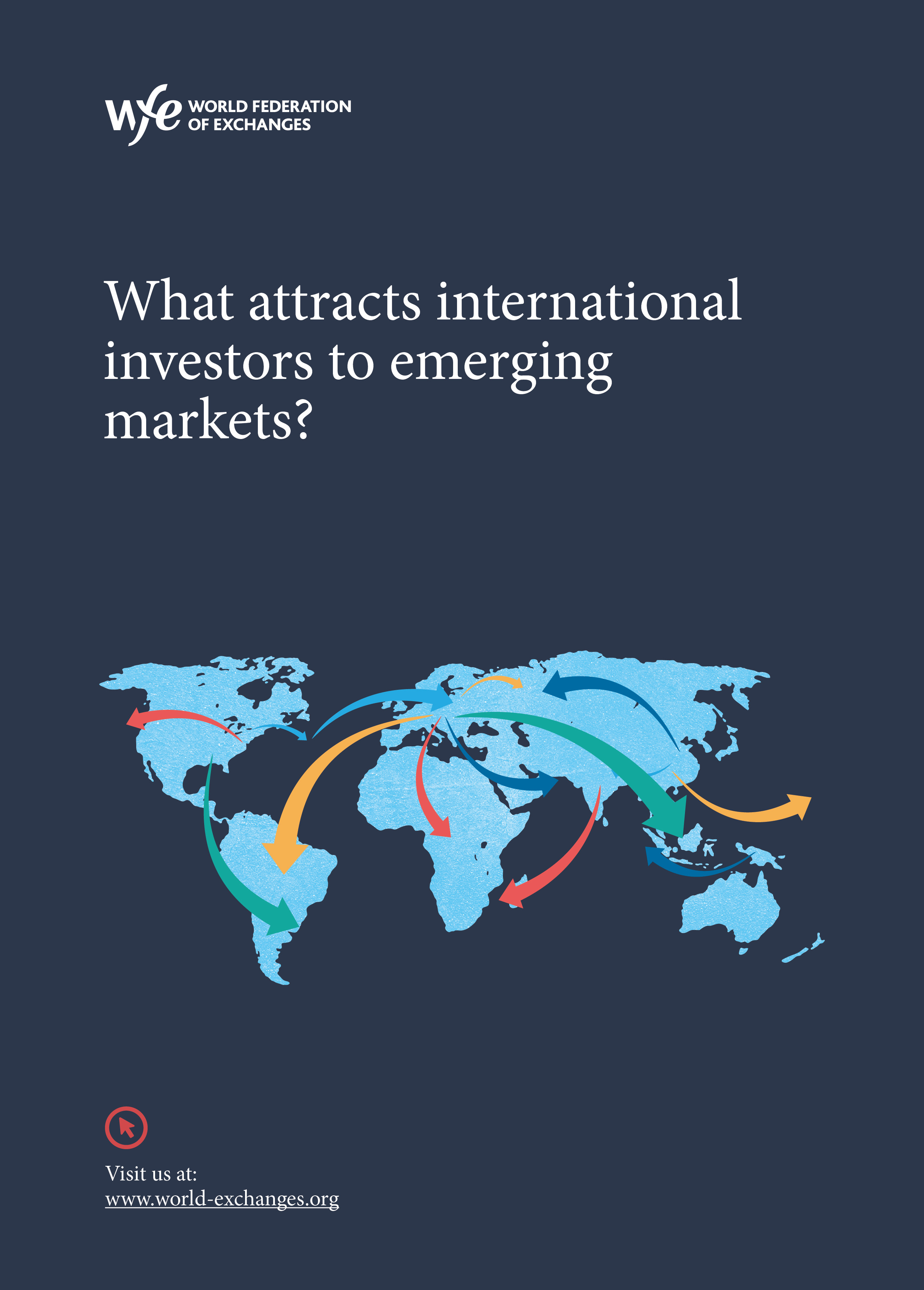 What attracts international investors to emerging markets?